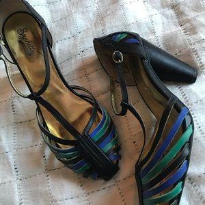 Retro Seychelles heritage leather heels 10